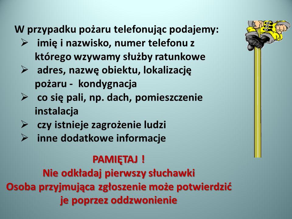 WAŻNE TELEFONY 112- Centrum Powiadamiania Ratunkowego (alarmowy w całej Europie) 997-Policja 998- Straż Pożarna 999- Pogotowie Ratunkowe