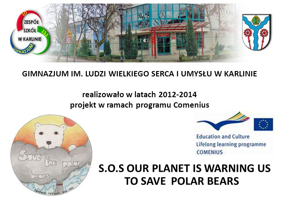 KOORDYNATOR PROJEKTU: POLAND – JUNIOUR HIGH SCHOOL IN KARLINO NASI PARTNERZY:–  TURKEY - PRIMARY SCHOOL YENIMAHALLE/BATIKENT IN ANKARA TURKEY PRIMARY SCHOOL YENIMAHALLE/BATIKENT IN ANKARA  BULGARIA - PRIMARY SCHOOL 50 VASIL APRILOV STR IN LEVSKY BULGARIA PRIMARY SCHOOL 50 VASIL APRILOV STR IN LEVSKY  SPAIN - GENERAL SECONDARY SCHOOL C/JOSE MANUEL PUELLES DE SANTOS IN SEVILLA SPAIN GENERAL SECONDARY SCHOOL C/JOSE MANUEL PUELLES DE SANTOS IN SEVILLA  ROMANIA - GENERAL SECONDARY SCHOOL STR.