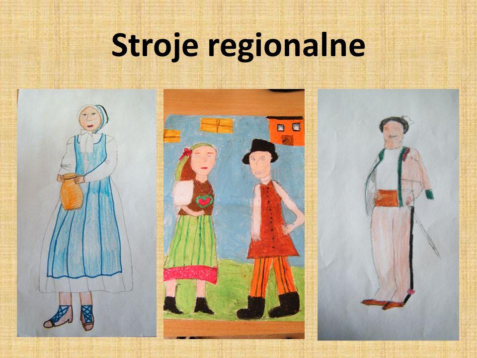 Stroje regionalne