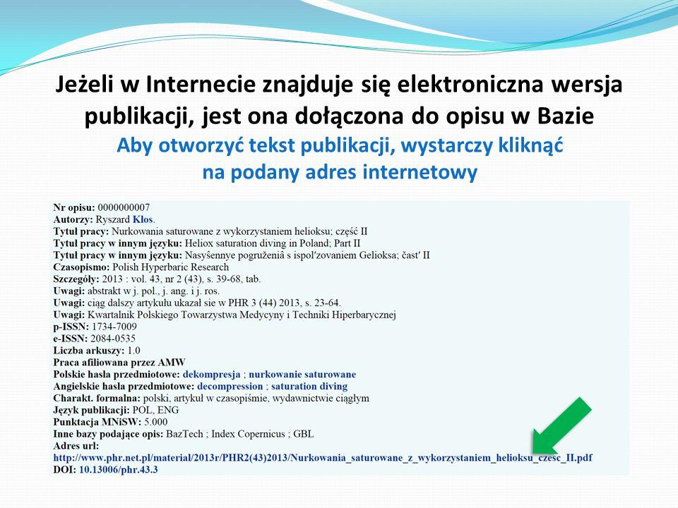  bibliometrii i rankingów (opracowuje zestawienia do celów sprawozdawczych wewnętrznych i zewnętrznych)  cytowań (sporządza zestawienia o cytowaniach publikacji pracowników)  Rejestrowania prac naukowo-badawczych  Rejestrowania patentów