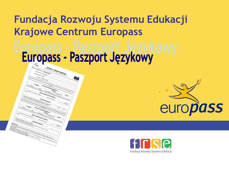 Fundacja Rozwoju Systemu Edukacji Krajowe Centrum Europass