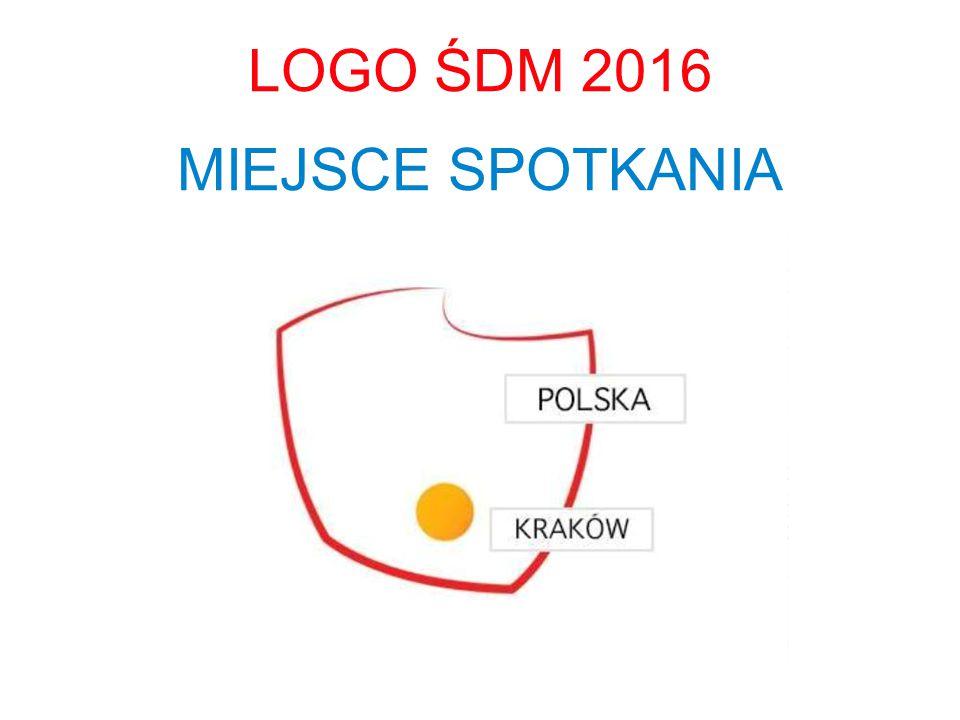 LOGO ŚDM 2016 MIEJSCE SPOTKANIA