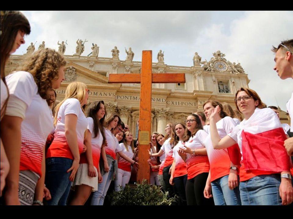 Droga młodzieży, na zakończenie Roku Świętego powierzam wam znak tego Roku Jubileuszowego: Krzyż Chrystusa! JAN PAWEŁ II Rzym, 22 IV 1984