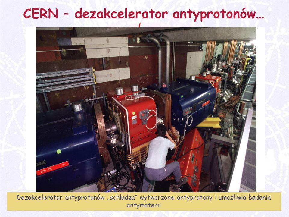 """M. Turała15CERN, 31 marzec 2008 CERN – dezakcelerator antyprotonów… Dezakcelerator antyprotonów """"schładza"""" wytworzone antyprotony i umożliwia badania"""
