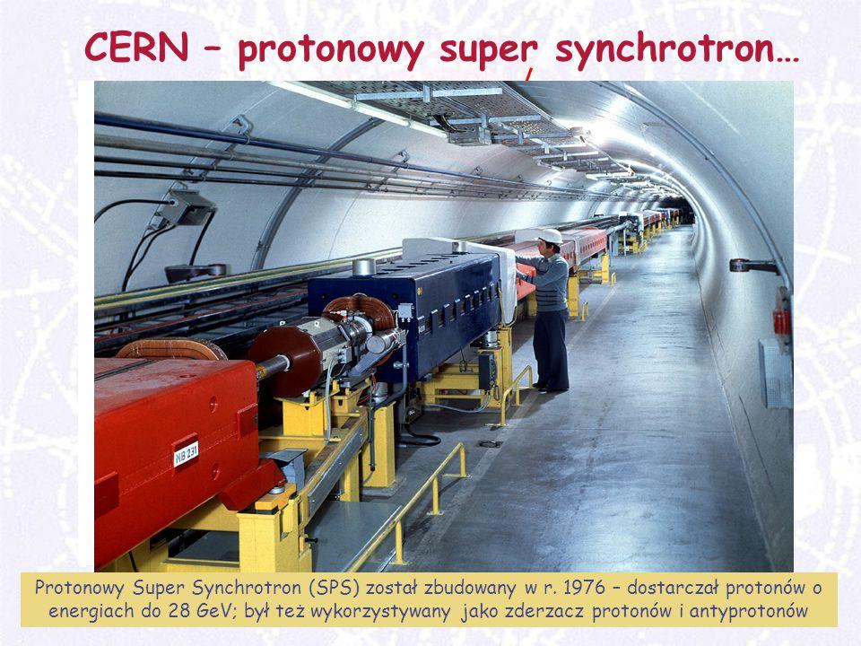 M. Turała16CERN, 31 marzec 2008 CERN – protonowy super synchrotron… Protonowy Super Synchrotron (SPS) został zbudowany w r. 1976 – dostarczał protonów