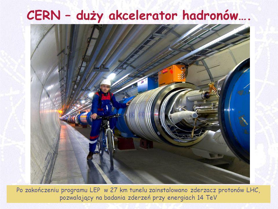 M.Turała18CERN, 31 marzec 2008 CERN – duży akcelerator hadronów….