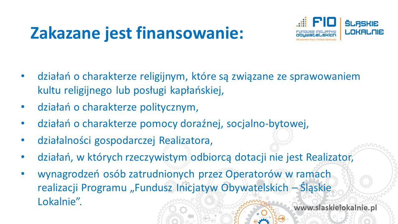 www.slaskielokalnie.pl działań o charakterze religijnym, które są związane ze sprawowaniem kultu religijnego lub posługi kapłańskiej, działań o charak