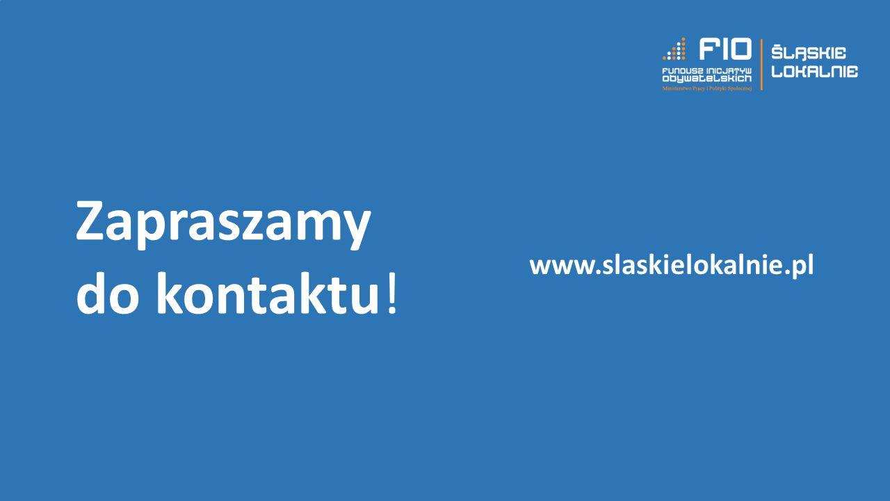 Zapraszamy do kontaktu! www.slaskielokalnie.pl