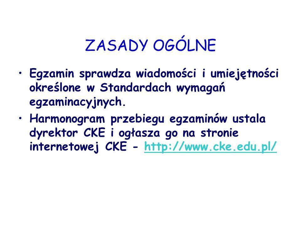 CZĘŚĆ USTNA CZĘŚĆ USTNA  Przedmioty obowiązkowe: język polski, język obcy nowożytny.