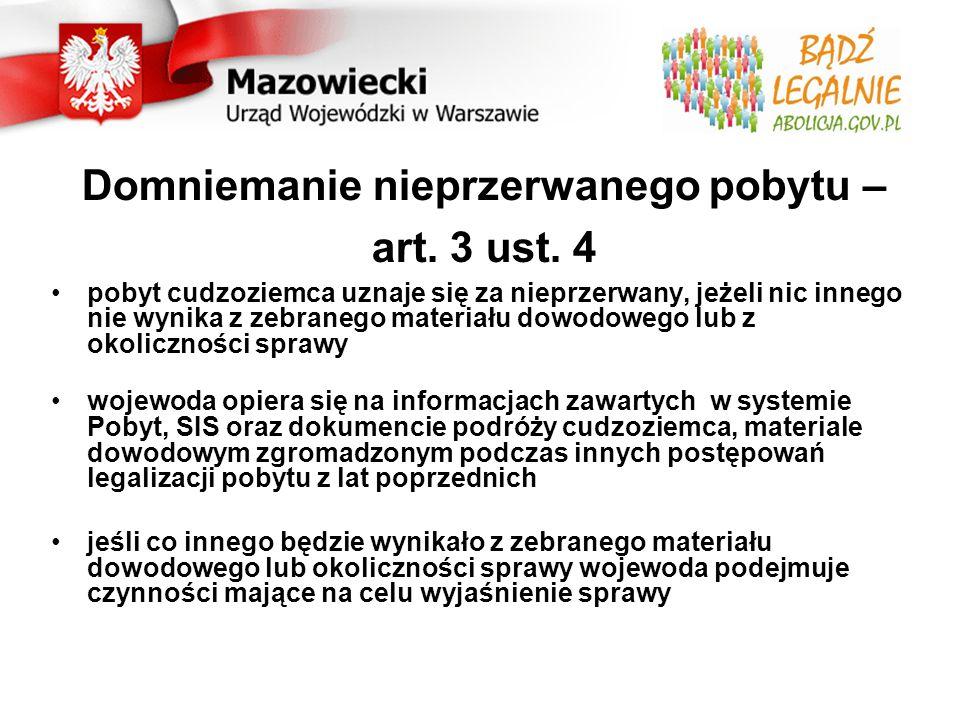 Dzieci urodzone przed 20.12.2007: Mogą składać wniosek o abolicję na tych samych zasadach co rodzice Brak ważnego dokumentu podróży jest rozpatrywany w sposób indywidualny tak jak u rodziców Dzieci urodzone po 20.12.2007 w Polsce: Mogą składać wniosek w trybie ustawy o cudzoziemcach (art.