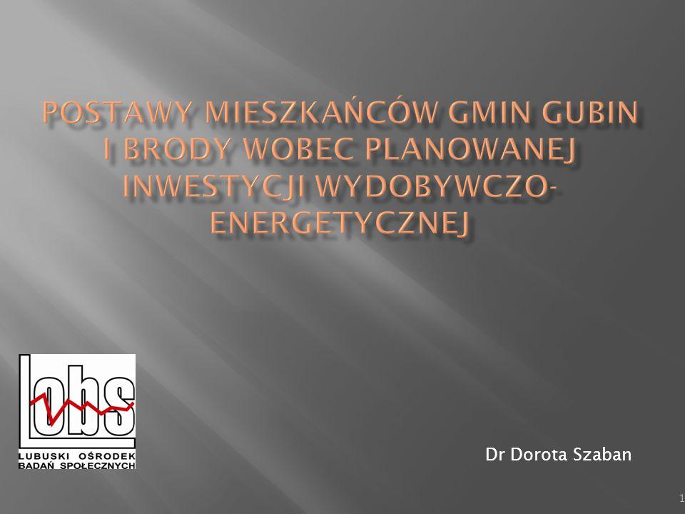  Badania uwzględniają specyfikę terenu gmin Gubin i Brody;  Podmiot realizujący badanie cieszy się zaufaniem społecznym, co sprzyja procesowi realizacji badań;  Badanie łączy w sobie elementy naukowe z komercyjnymi;  Dostosowywanie tematyki do aktualnych wydarzeń oraz oczekiwań inwestora;  Pogłębianie zdobytych i ważnych kwestii w badaniach innego typu 2