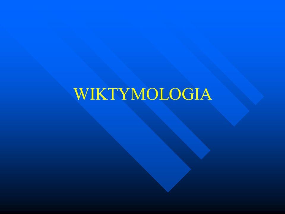 WIKTYMOLOGIA