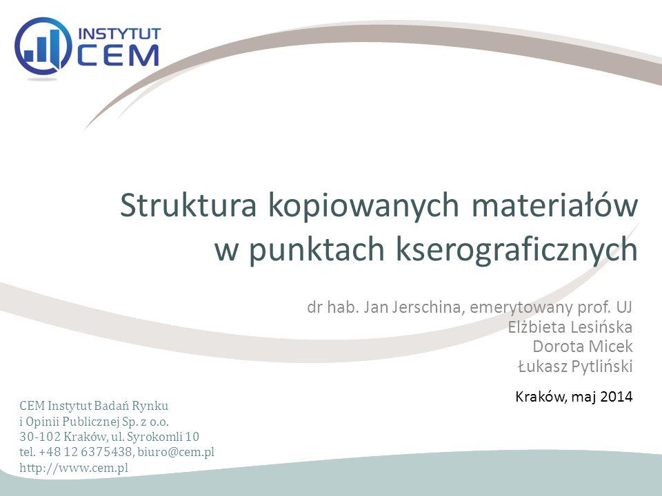 CEM Instytut Badań Rynku i Opinii Publicznej Sp.z o.o.