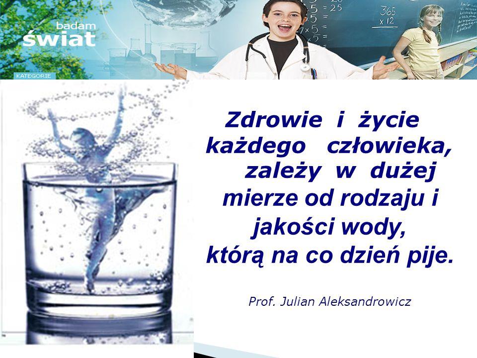 Tytuł projektu: Skąd się wzięła woda w moim kranie JAN MICHNIEWICZ kl. Va