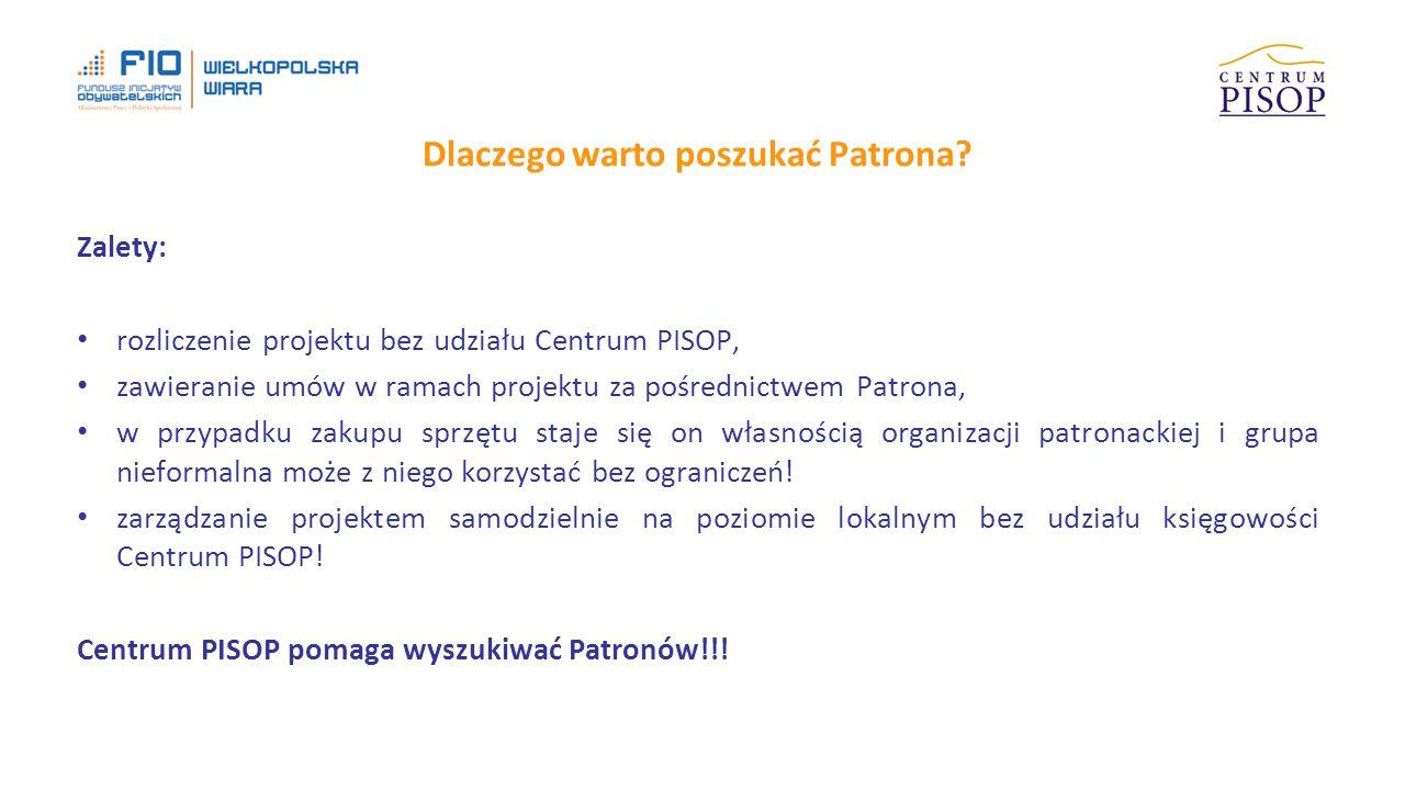 Dlaczego warto poszukać Patrona.