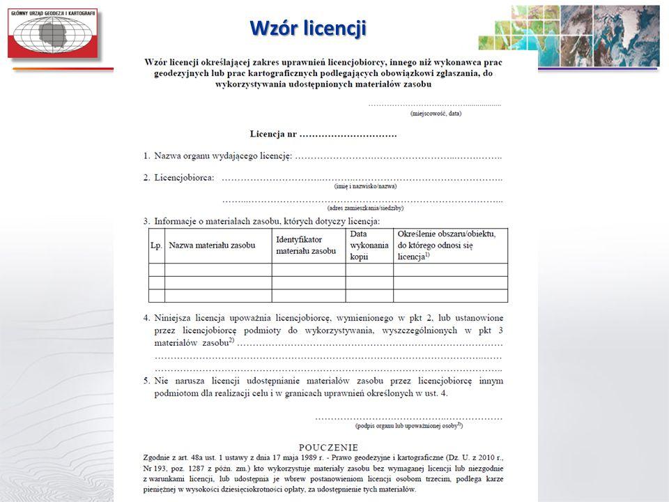 Wzór licencji