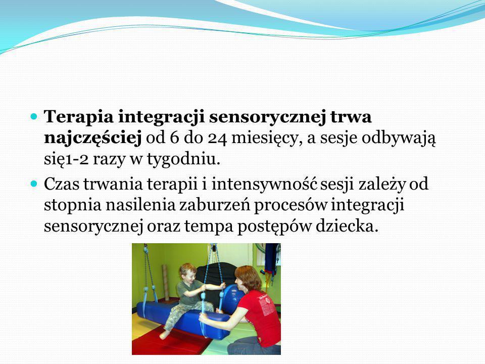 DIAGNOZA INTEGRACJI SENSORYCZNEJ: Polega na kompleksowych badaniach dziecka.
