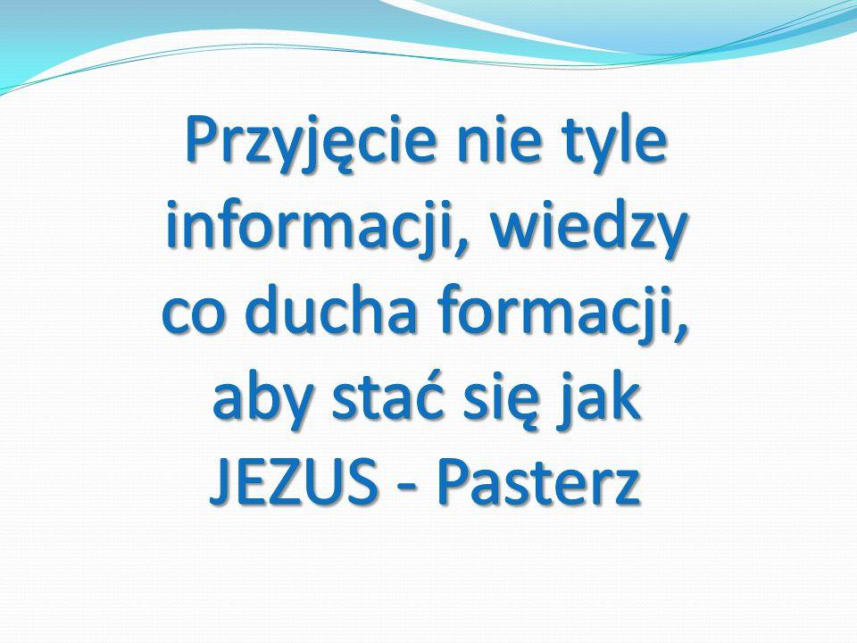 Inne kryteria człowieka uformowanego: jak Jezus dojrzały w człowieczeństwie, harmonijny jak Jezus dojrzały w człowieczeństwie, harmonijny wolny w dawaniu siebie do miłowania, służby, ewangelizacji wolny w dawaniu siebie do miłowania, służby, ewangelizacji modlitwa, jednoczenie się z Duchem Świętym - Miłością Oblubieńczą modlitwa, jednoczenie się z Duchem Świętym - Miłością Oblubieńczą