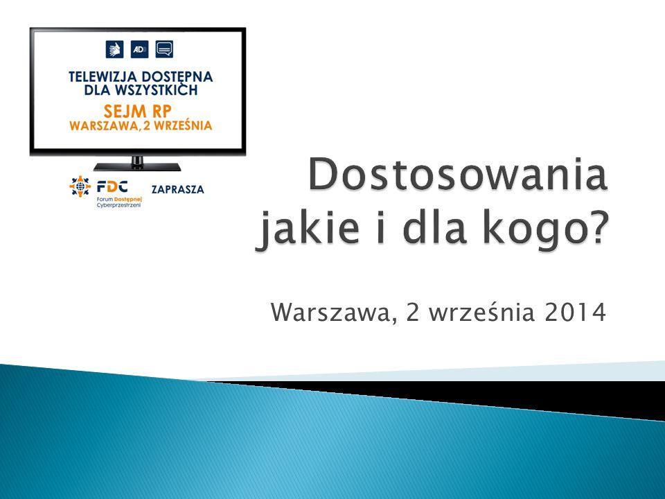 Warszawa, 2 września 2014