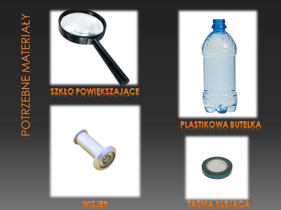 Pierwszy prototyp wykonany został z plastikowej butelki, wizjera do drzwi oraz jednego szkła powiększającego.