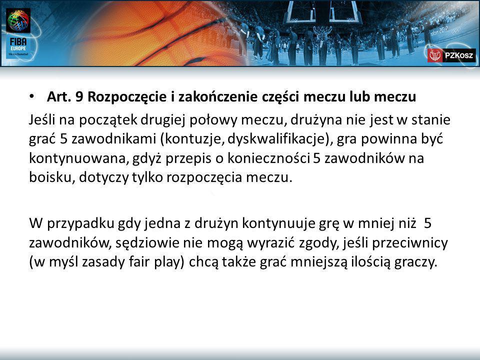 Art.18/19 cd… Uwaga. Sędziowie funkcyjni!!!.