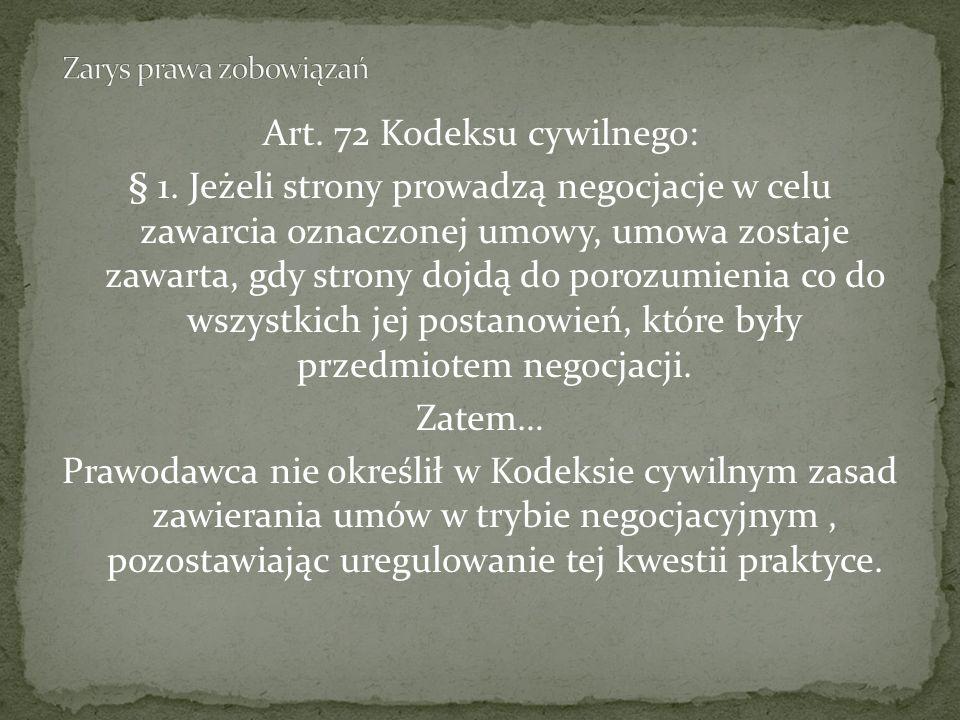 Art.72 Kodeksu cywilnego: § 1.
