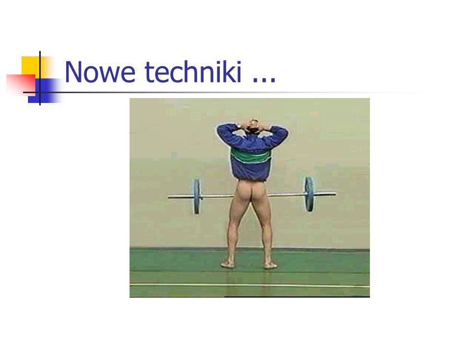 Nowe techniki...