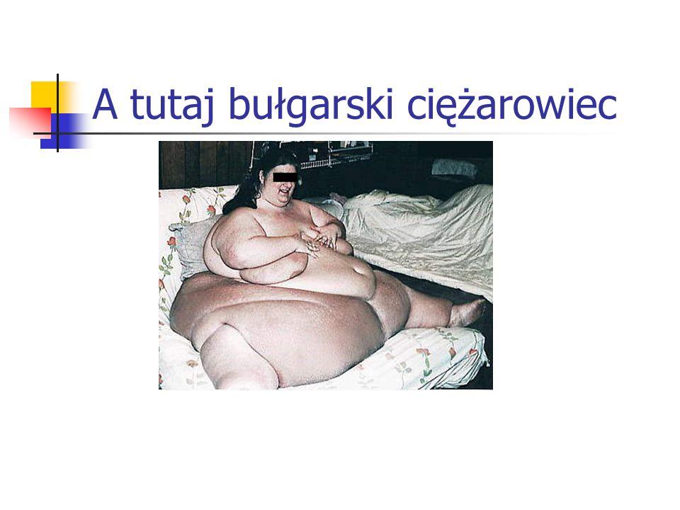A tutaj bułgarski ciężarowiec