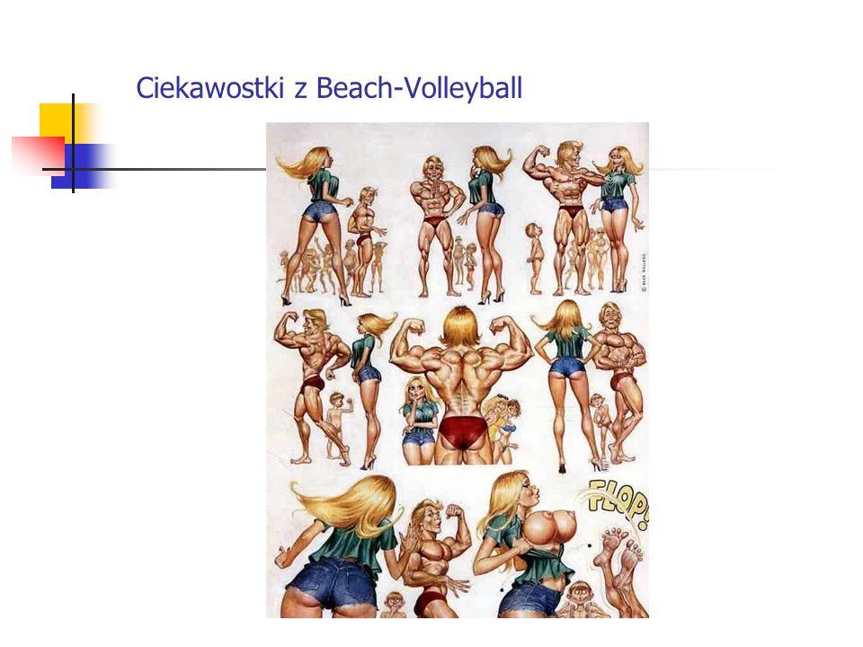 Ciekawostki z Beach-Volleyball