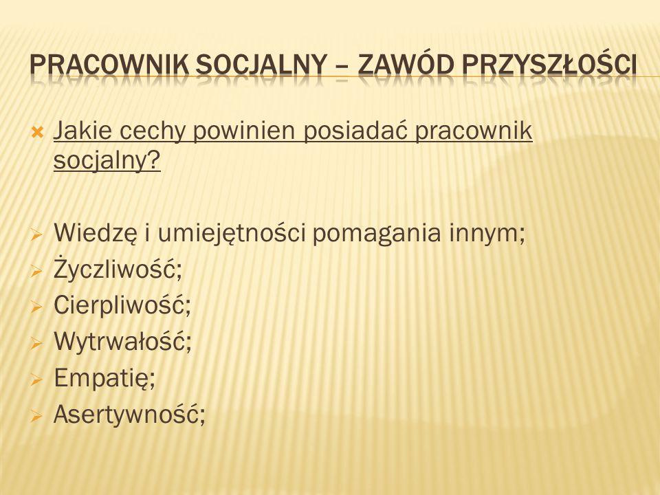  Jak zostać pracownikiem socjalnym.