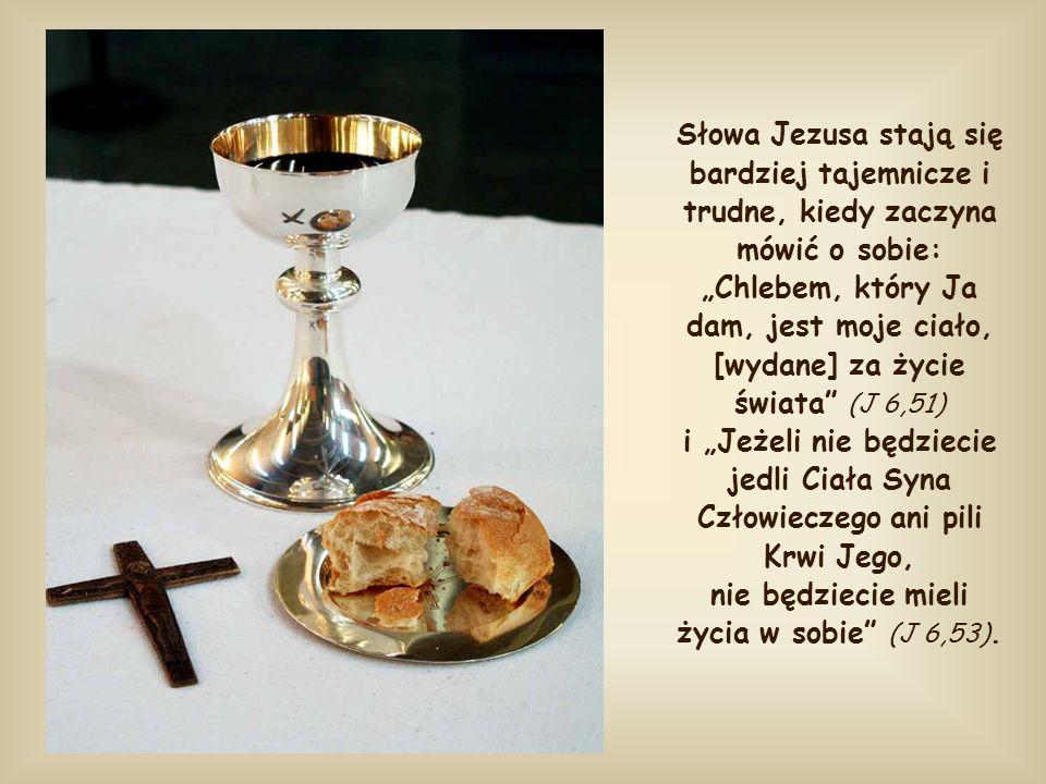 Być chlebem, aby przekazywać nam swoje życie, byśmy przemienili się w Niego. Aż dotąd, duchowe znaczenie tego słowa jest zrozumiałe dzięki odniesienio