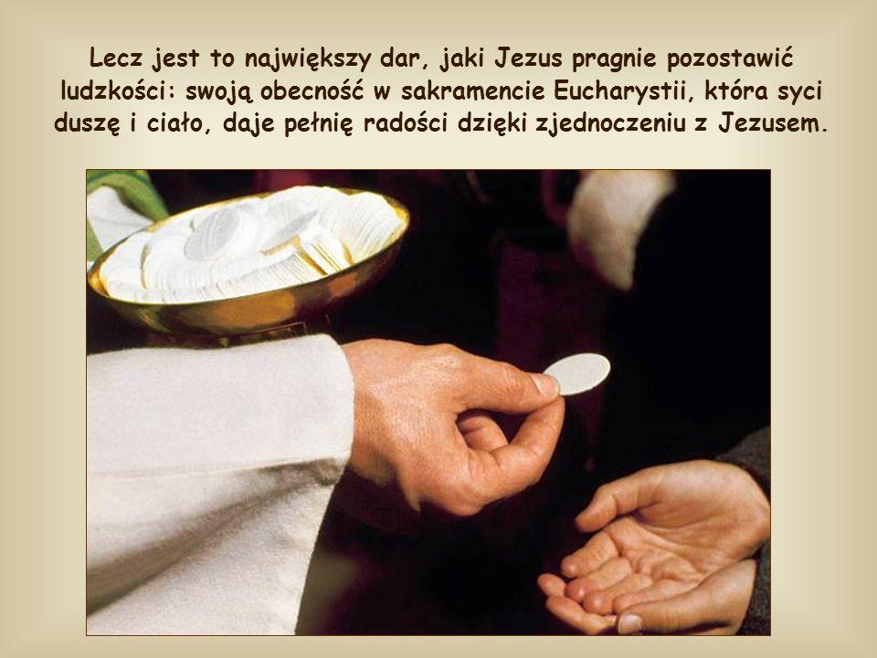 Jest to zapowiedź Eucharystii; ta zapowiedź spowodowała zgorszenie i odejście wielu uczniów.