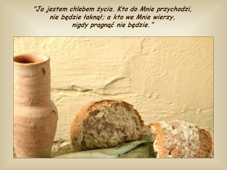 Dla nakarmionych tym chlebem żaden inny głód nie może już istnieć. Każde nasze pragnienie miłości i prawdy zaspakaja Ten, który jest samą Miłością i s