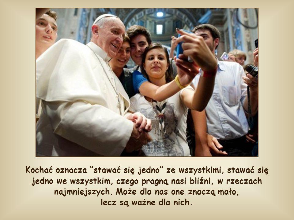 """Przez tę przenośnię o chlebie Jezus uczy nas także prawdziwego życia, bardziej """"chrześcijańskiego"""" kochania naszych bliźnich. Co w rzeczywistości ozna"""
