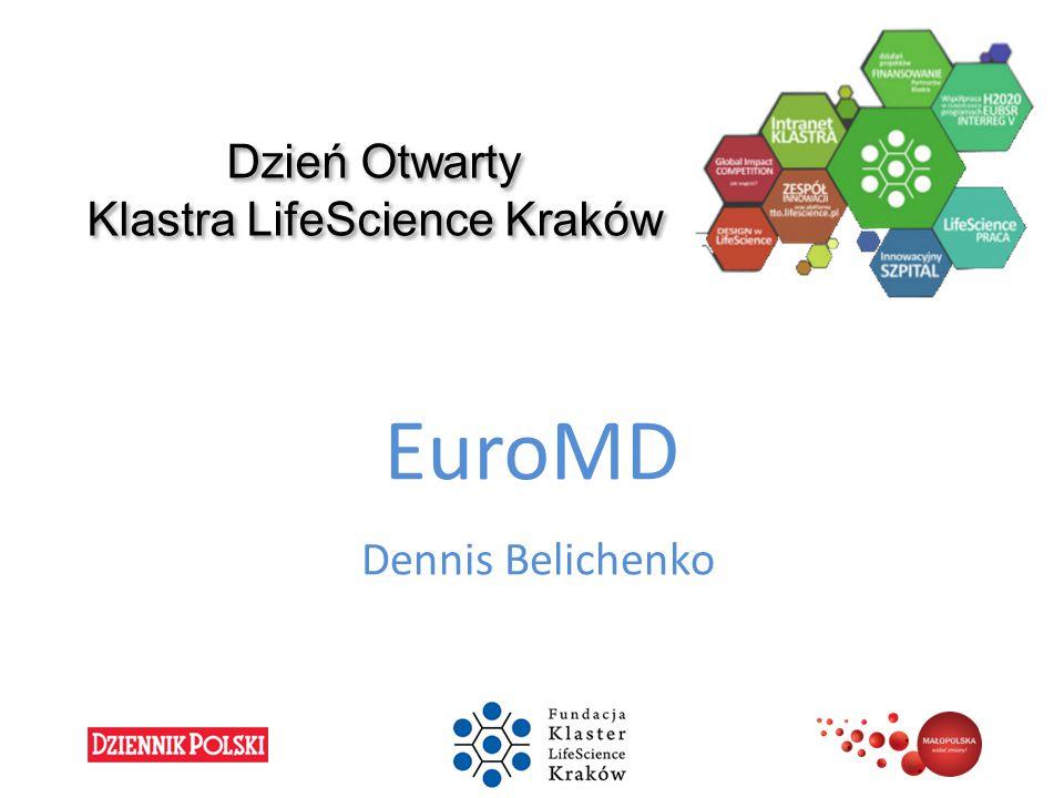 Dzień Otwarty Klastra LifeScience Kraków EuroMD Dennis Belichenko