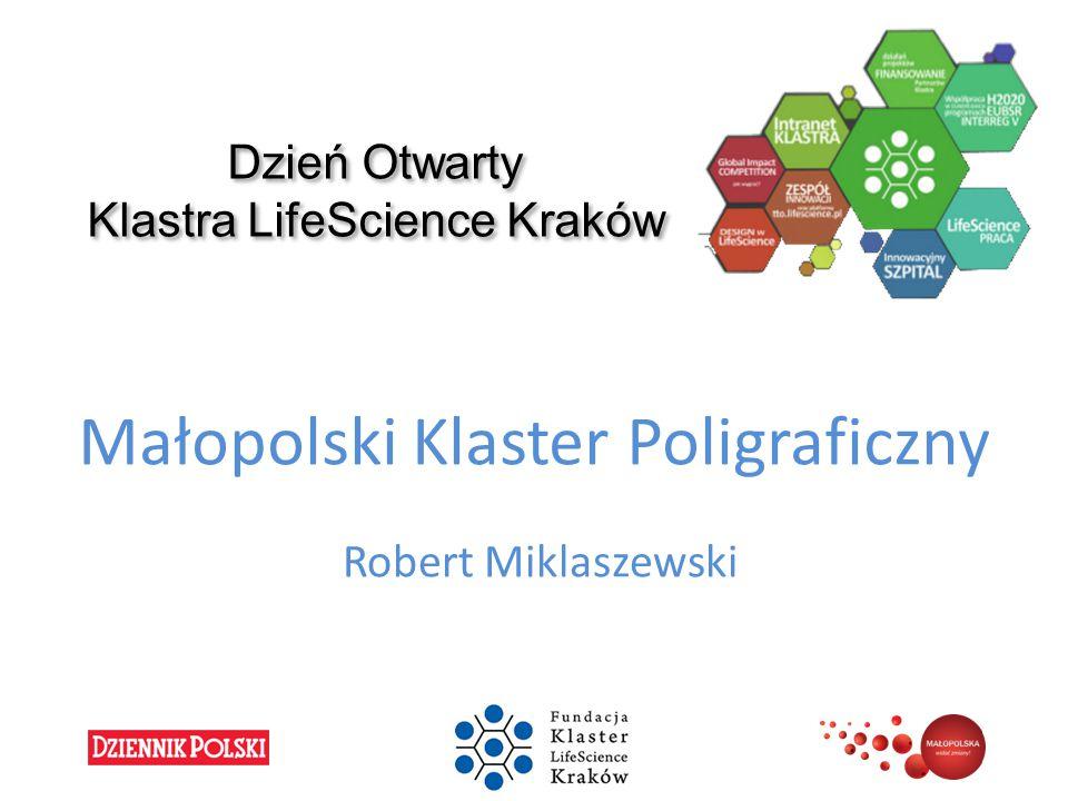 Dzień Otwarty Klastra LifeScience Kraków Małopolski Klaster Poligraficzny Robert Miklaszewski