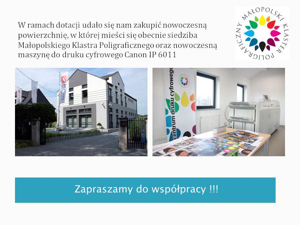 Zapraszamy do współpracy !!!