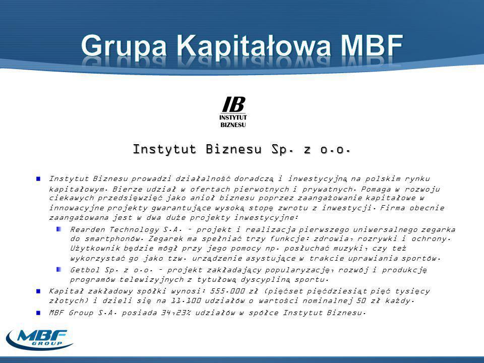 Instytut Biznesu Sp. z o.o.