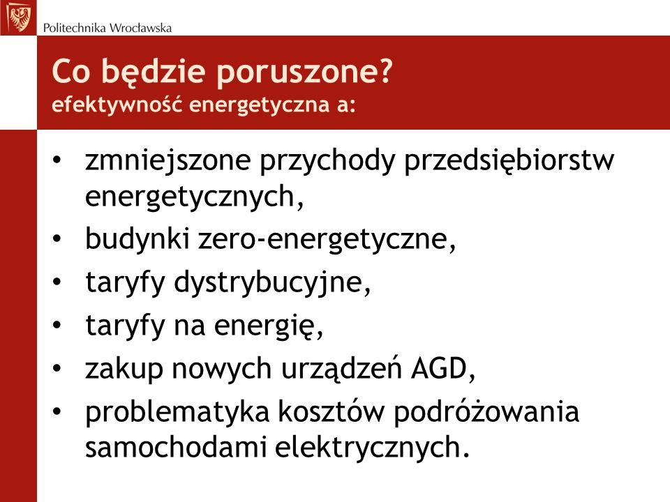 Wnioski Obecne taryfy energetyczne (dystrybucyjne i za energię) nie gwarantują tego, że odbiorcy będą pokrywać koszty, które powodują.