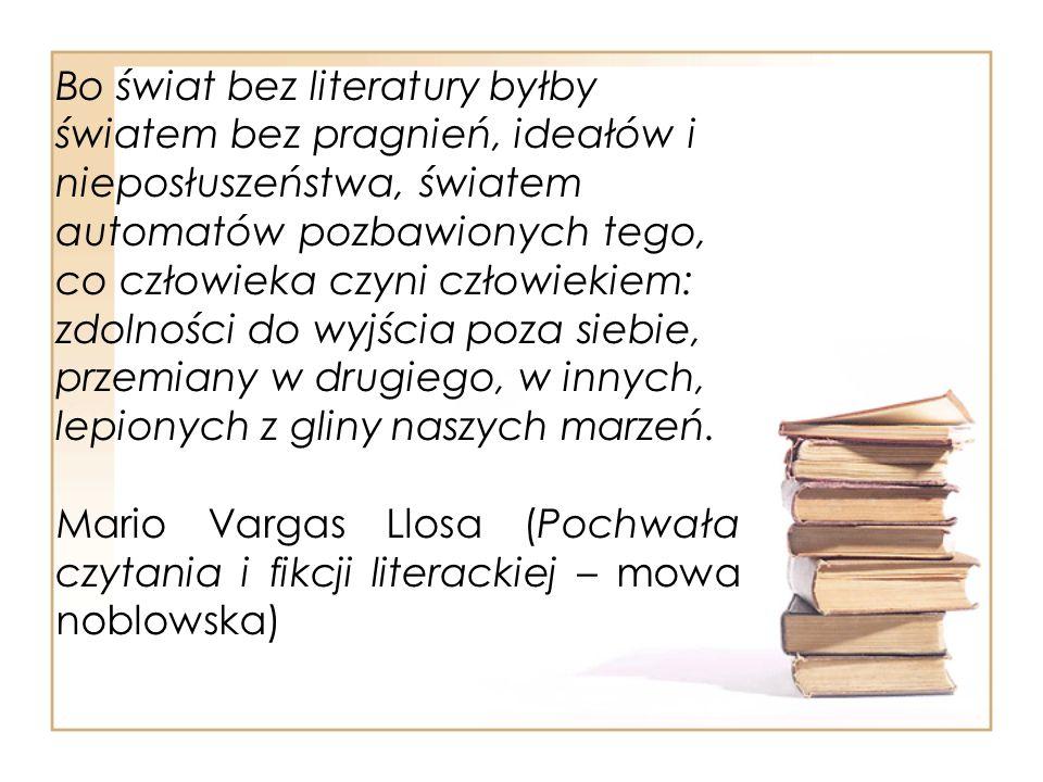 Zawsze żyłem w książkach, dla książek, przez książki i wśród książek.