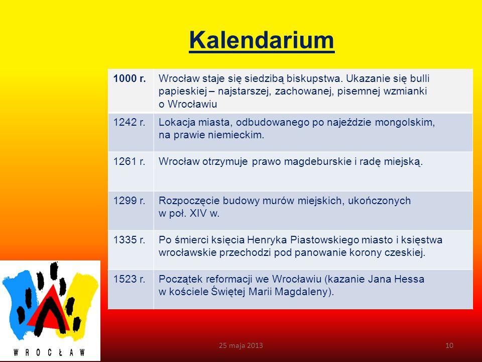 Flaga Wrocławia Flagą Miasta jest prostokątny płat tkaniny w kolorach czerwonym i żółtym. Stosunek szerokości flagi do jej długości wynosi: 5:8. Zezwa