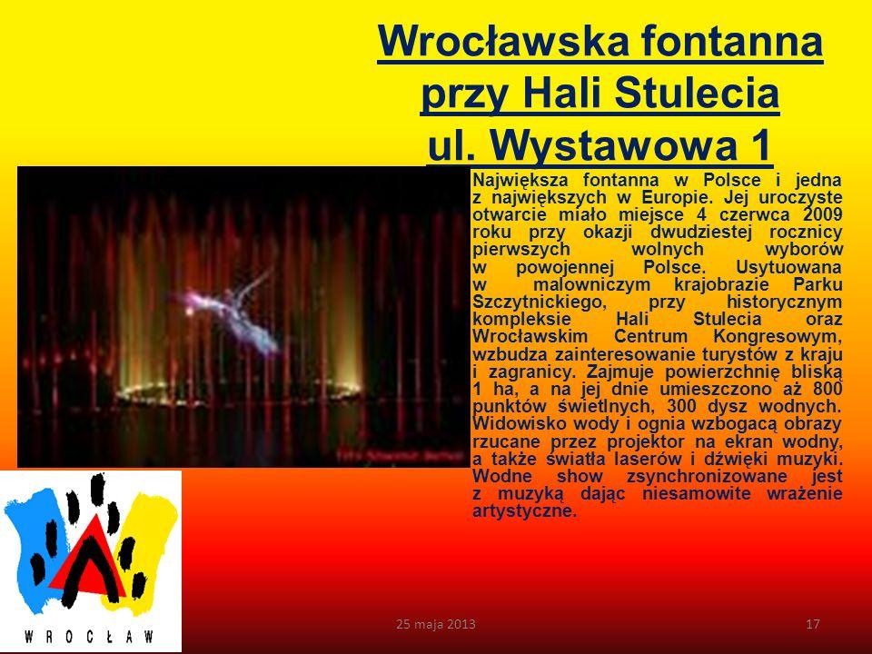 Ratusz Powstanie pierwszego Ratusza związane było z lokacją Wrocławia w 1261 r. na prawie magdeburskim. Powstały u schyłku XIII w. Ratusz był parterow