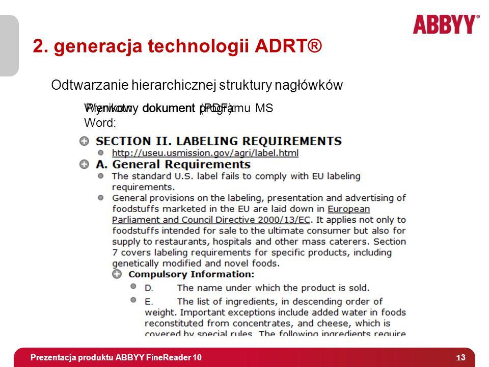 Tytuł i osoba prowadząca Pierwotny dokument (PDF):Wynikowy dokument programu MS Word: Odtwarzanie hierarchicznej struktury nagłówków 2.