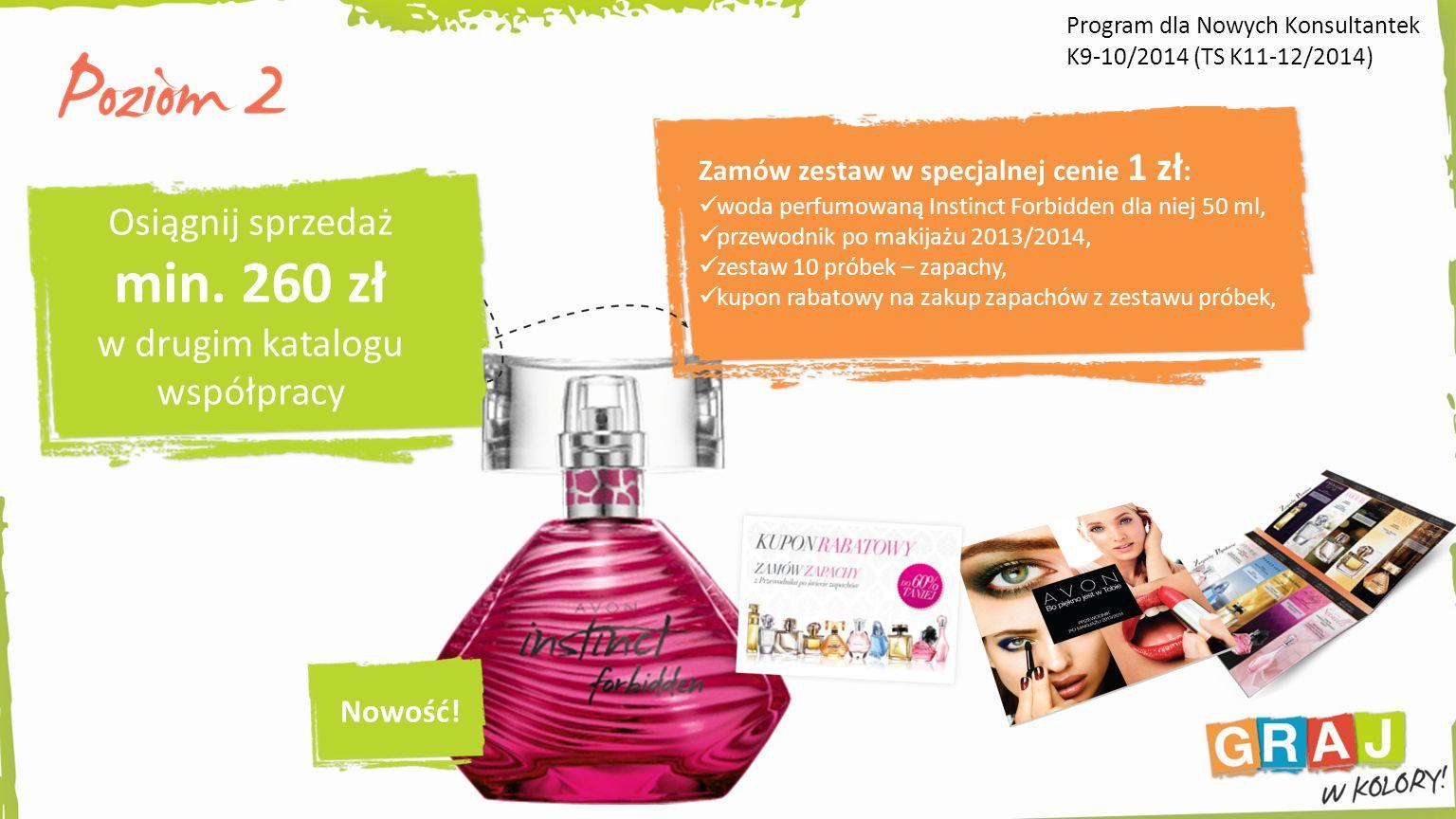 Zamów zestaw w specjalnej cenie 1 zł : woda perfumowaną Instinct Forbidden dla niej 50 ml, przewodnik po makijażu 2013/2014, zestaw 10 próbek – zapachy, kupon rabatowy na zakup zapachów z zestawu próbek, Nowość.