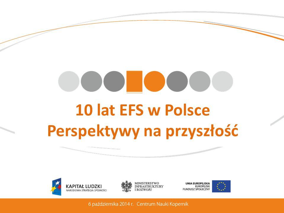 10 lat EFS w Polsce Perspektywy na przyszłość