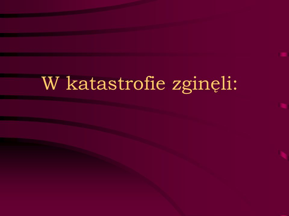 FUNKCJONARIUSZE BIURA OCHRONY RZĄDU 1.Jarosław Florczak 2.