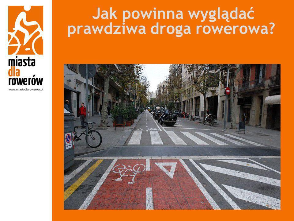 Jak powinna wyglądać prawdziwa droga rowerowa?