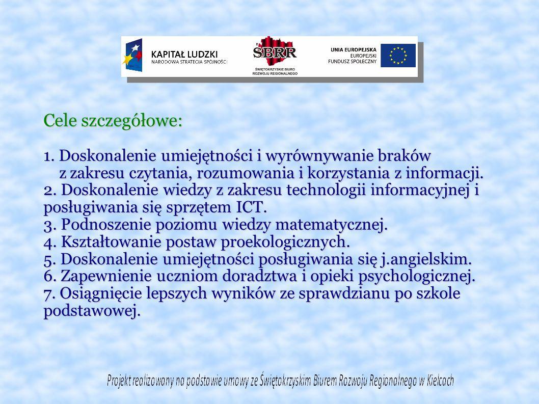 1.Zajęcia dodatkowe z informatyki-kl.V-VI – 10 uczniów 2.