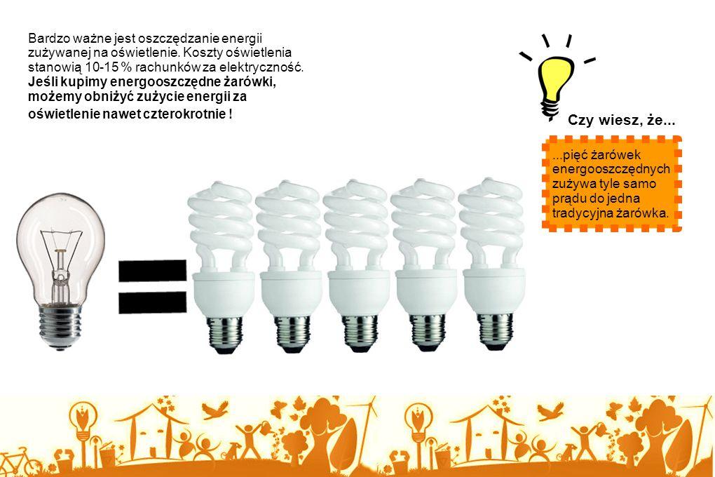 Jeżeli zależy Ci na losach naszej planety, czas najwyższy, aby nauczyć się właściwego gospodarowania energią. Wystarczy wyrobić sobie parę nawyków. Pa