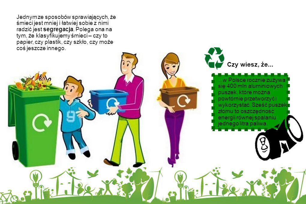 Ponieważ ludzi jest bardzo dużo, śmieci mogą poważnie zagrozić czystości naszej planety. Każdego dnia miliony kubełków ze śmieciami trafiają do śmietn